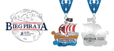 Prezentacja medalu Biegu Pirata
