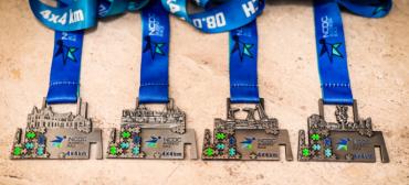 Wyjątkowy medal Biegu Sztafet Firmowych NCDC Business Race