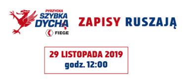 29 listopada ruszają zapisy naPyrzycka Szybka Dycha FIEGE