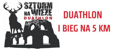 Trwają zapisy naSzturm naWieżę – dowyboru duathlon lub bieg na5km.